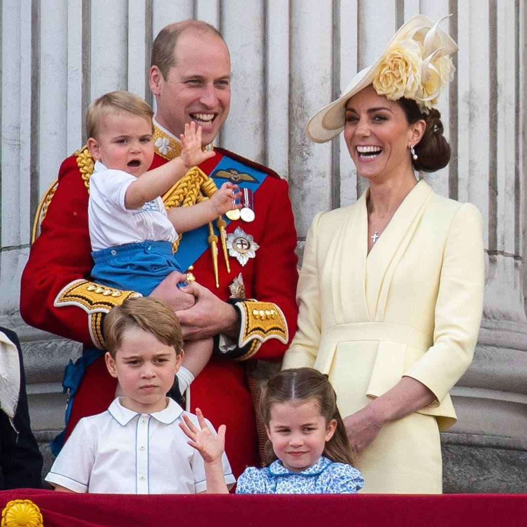принц Луи, Кейт Миддлтон, принц Уильям, модные образы Кейт Миддлтон, фото