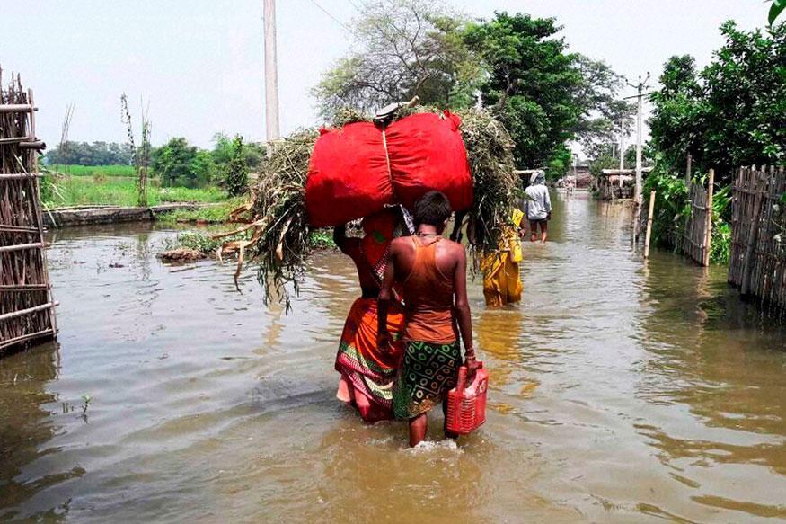 Жертвами очередного наводнения в Индии стали 156 человек