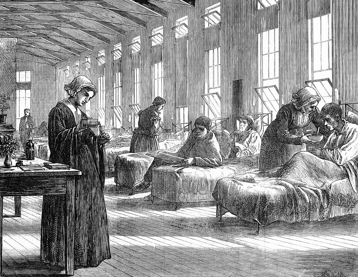 оспа, больница, Англия, эпидемия