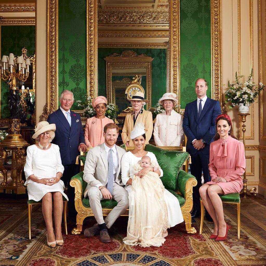 Кейт Миддлтон, Принц Гарри, Принц Уильям, Принц Чарльз, Меган Маркл, сын Меган Маркл, фото, принц Арчи