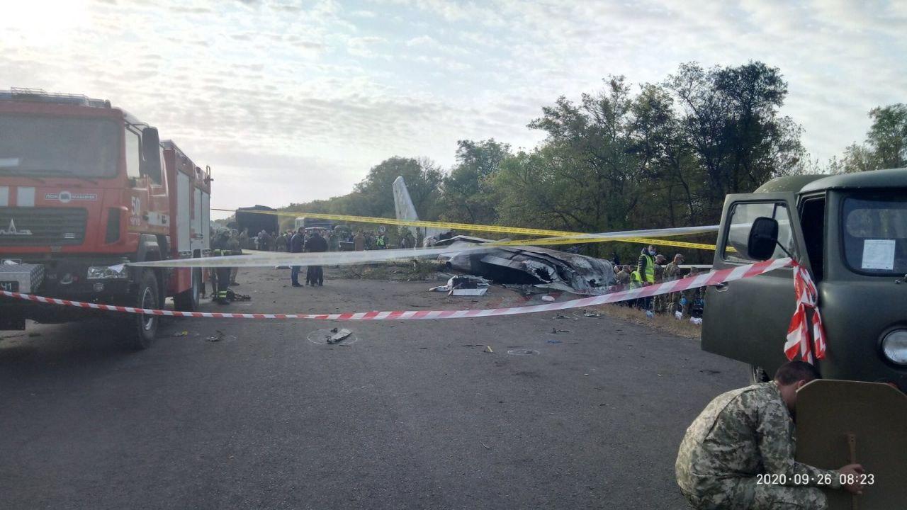 Следствие пока не исключает версию теракта на борту АН-26, – ГБР