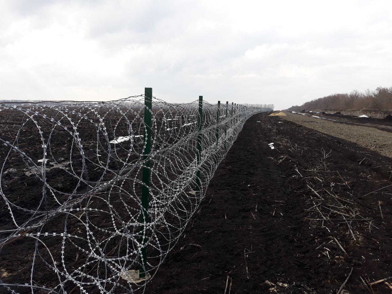 """Российско-украинская граница обрастает """"Егозой"""""""