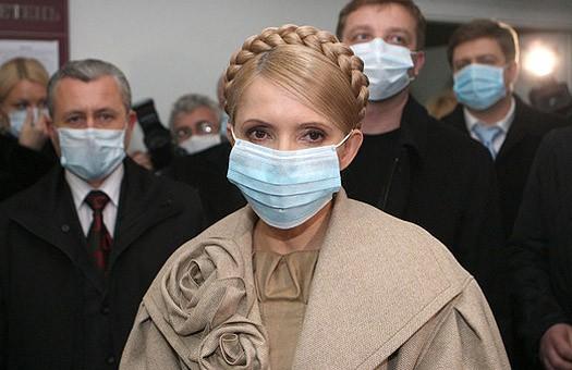 У Тимошенко распорядились обеспечить спортсменов лекарствами от гриппа