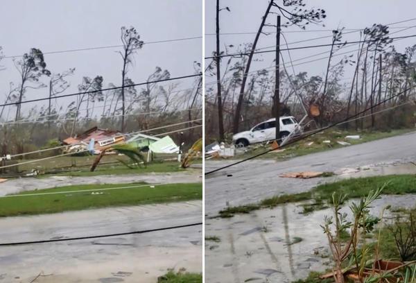 """Ураган """"Дориан"""" прогулочным шагом продолжает идти по Багамским островам"""