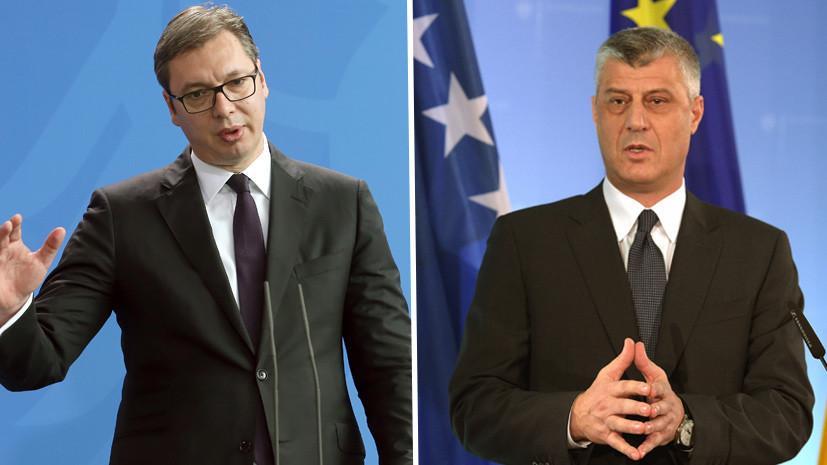 Сербия привела армию в боевую готовность из-за визита президента Косово