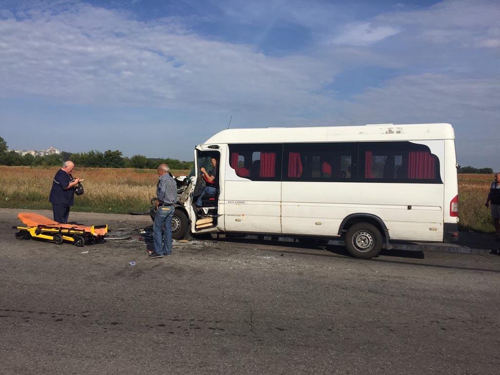 В Днепропетровской области в ДТП пострадали 13 человек