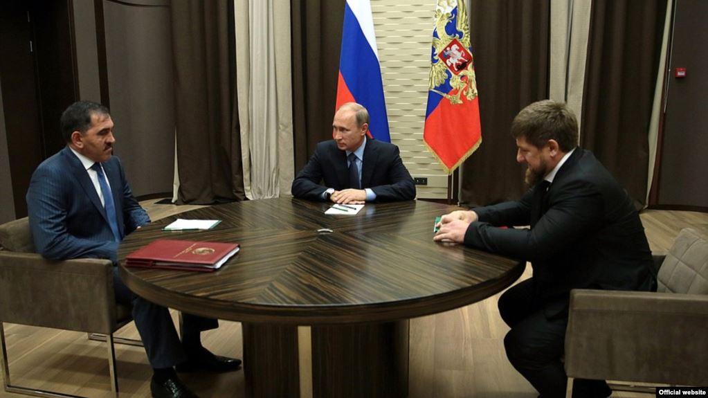 У Путина перенесли на следующий год решение чеченского-дагестанского воп...