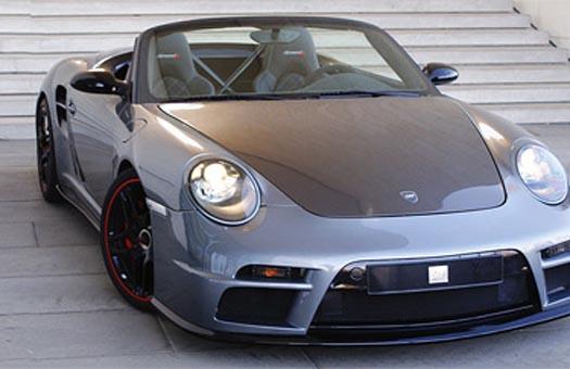 Ателье 9ff построило 650-сильный кабриолет на базе Porsche 911 Turbo