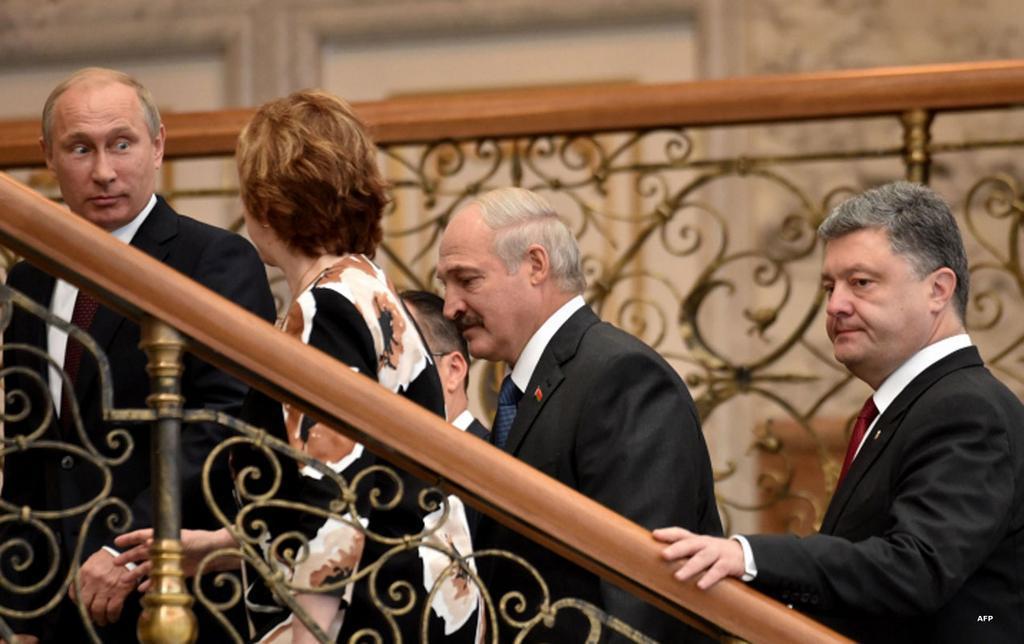 Порошенко, Меркель, Олланд и Путин соберутся в Минске