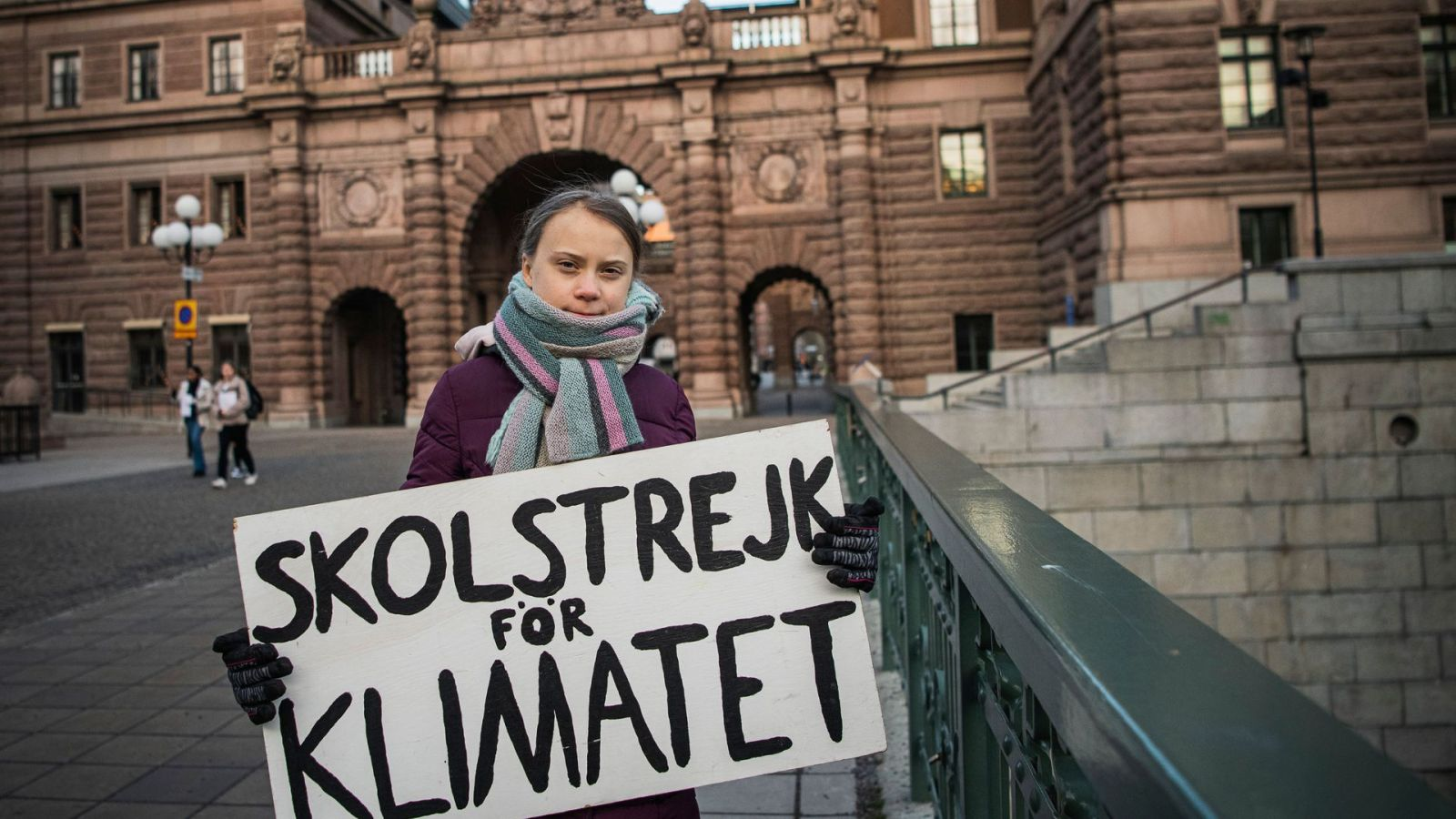 Юную экоактивистку Грету Тунберг снова выдвинули на Нобелевскую премию м...
