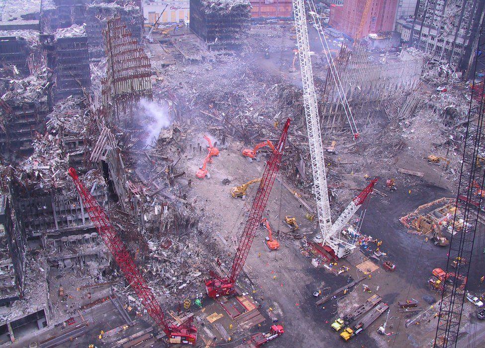 На распродаже найдены редкие фото с места теракта 11 сентября