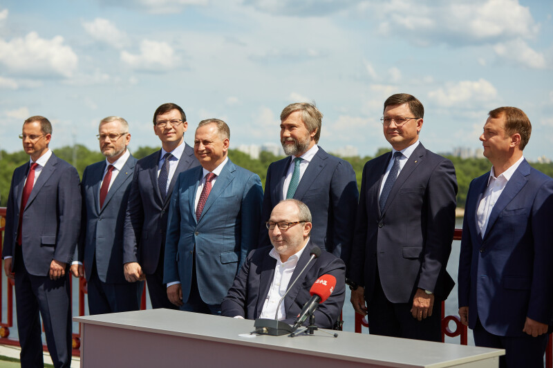 """Партии """"Оппозиционный блок"""", """"Наши"""", """"Видродження"""", """"Доверяй Делам"""", """"Па..."""