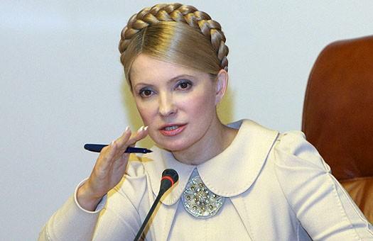 Тимошенко обещает химпрому продлить льготы на газ