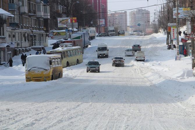 Сегодня в Украине ожидается ухудшение погодных условий