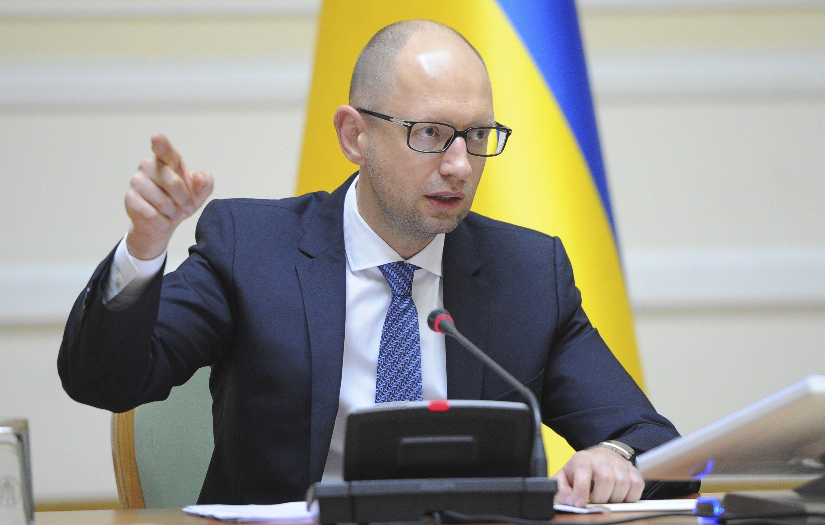 Яценюк: Альтернативы сотрудничеству с МВФ для Украины нет