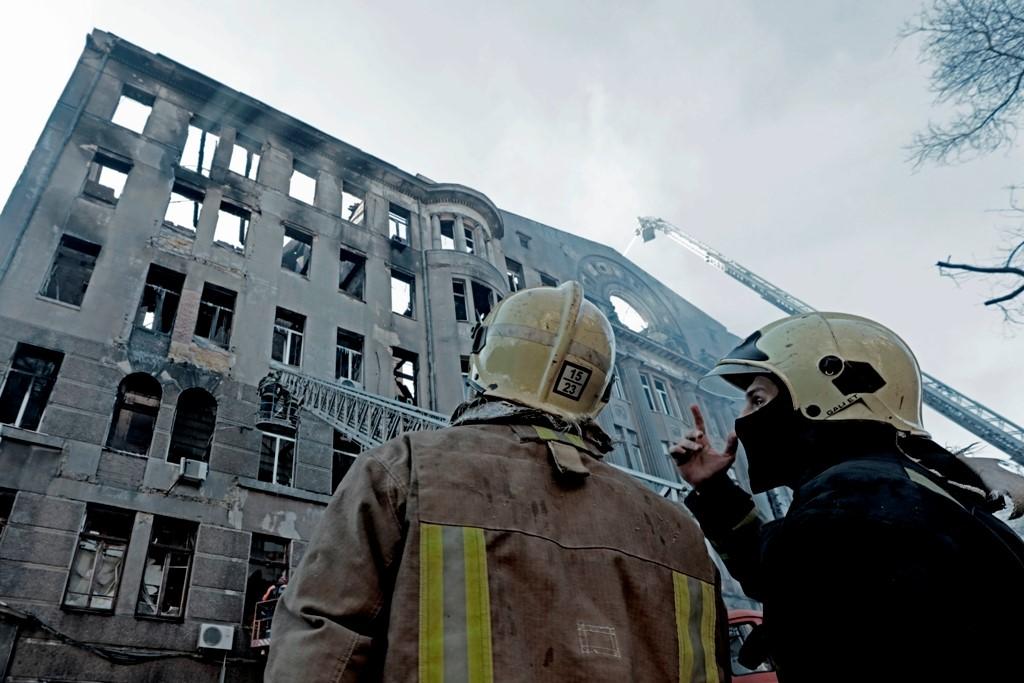 Пожар в одесском колледже: Занятия возобновятся 9 декабря