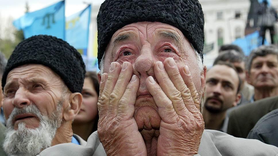 Украина призывает мир не допустить повторного геноцида крымских татар
