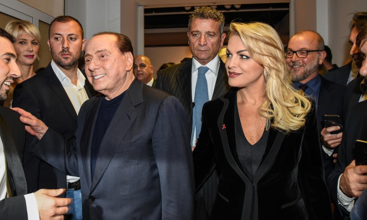италия, сильвио берлускони, франческа паскаль, марта фасцина