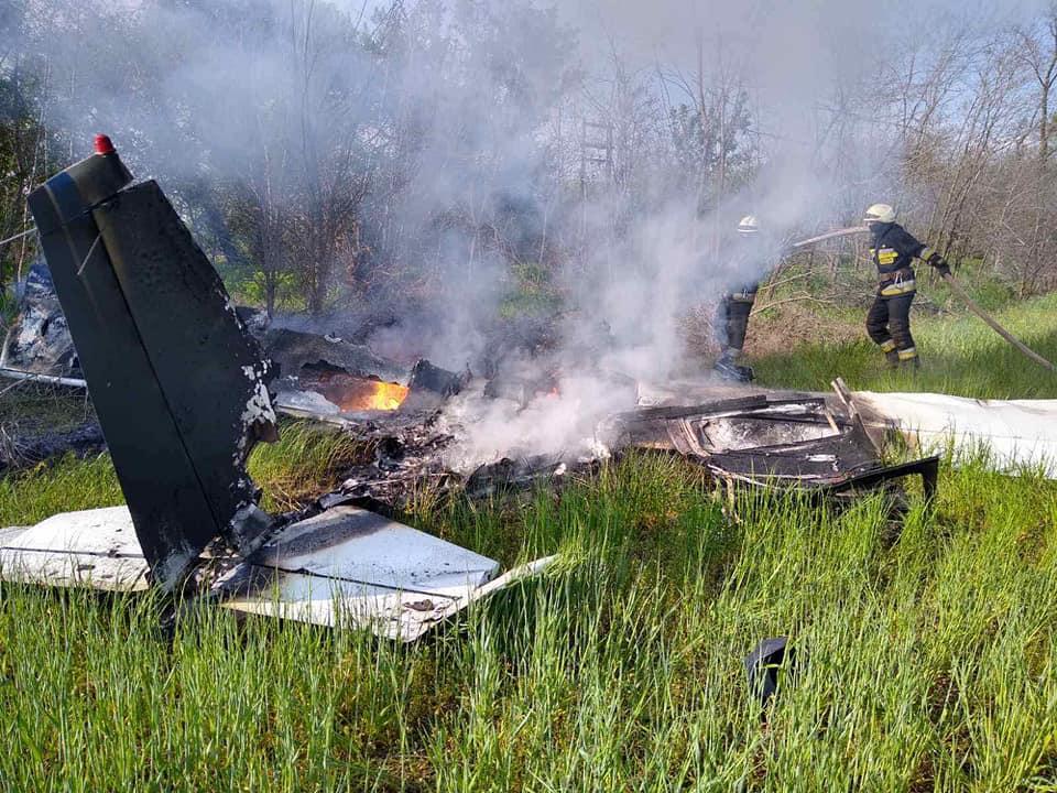 В Днепре потерпел крушение самолет, погибли два человека