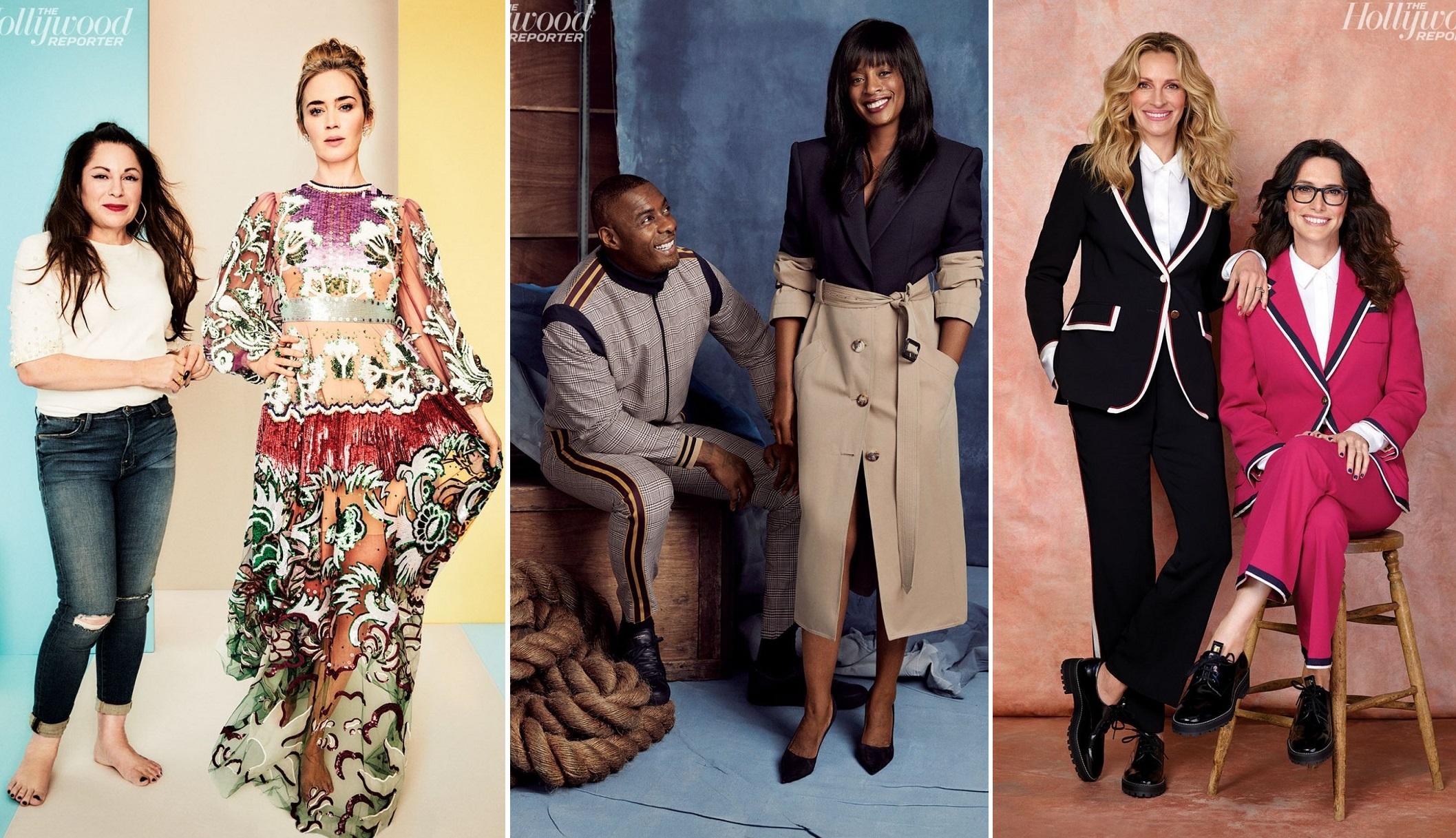 Кто одевает звезд Голливуда: знаменитости снялись вместе со своими стили...