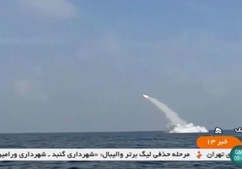 Иран успешно запустил крылатую ракету с подводной лодки