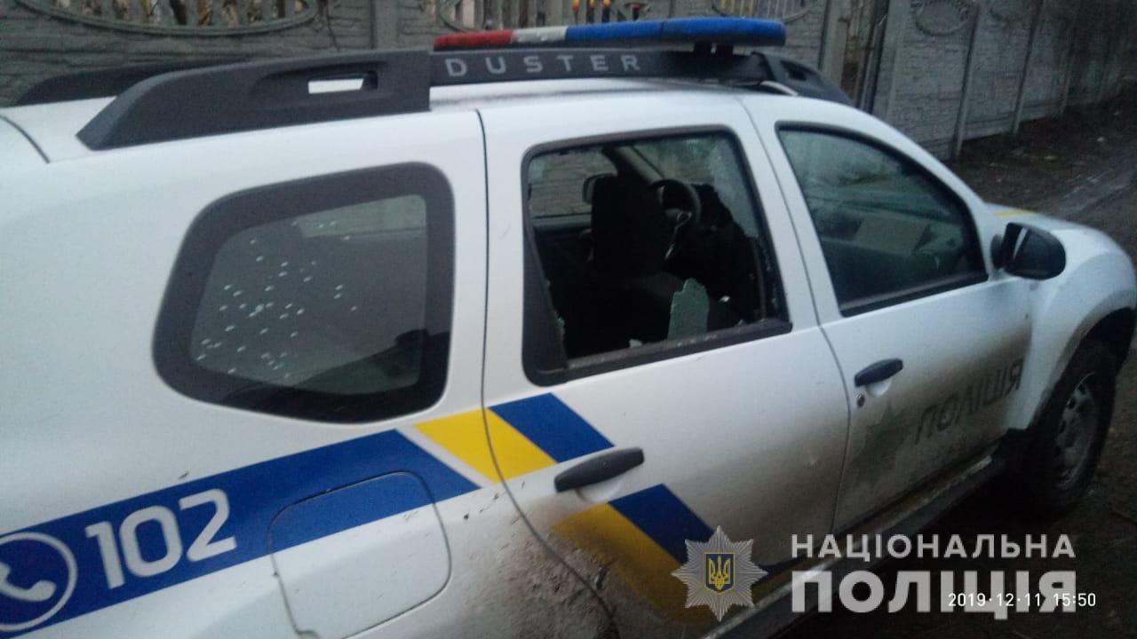"""В Киевской области мужчина обстрелял полицейских, введена спецоперация """"..."""