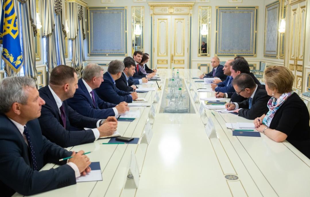 Украина настроена на усиление сотрудничества с ЕБРР, – Зеленский