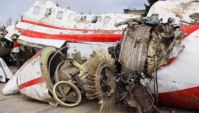 На самолете с польским руководством было по меньшей мере два взрыва