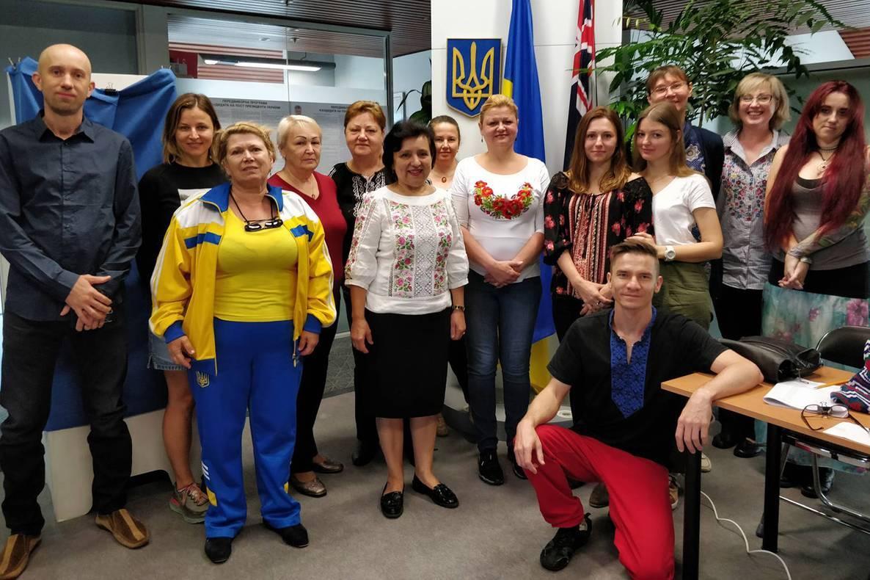 Избирать будущего украинского президента в Австралии пришли 99 человек