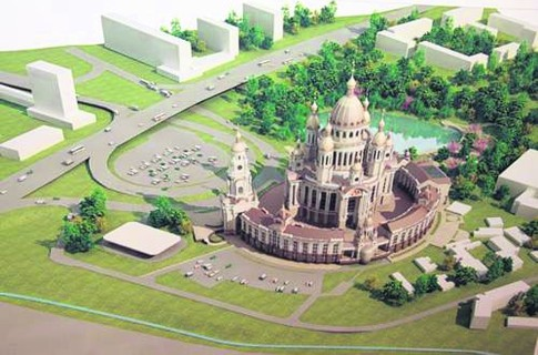 В Киеве начинают строить самый высокий в Европе храм