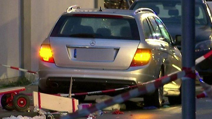 Автомобильная атака в Германии: количество пострадавших выросло до 52 че...