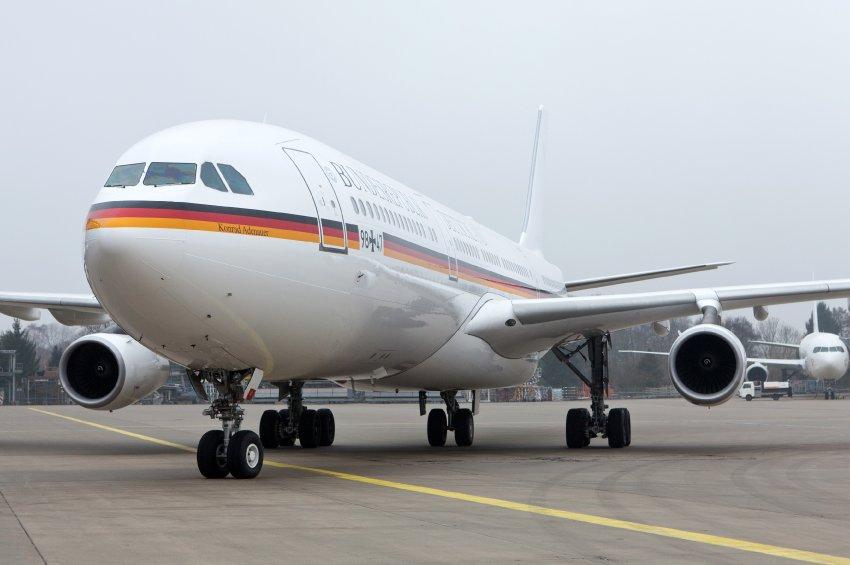 Самолет правительства Германии опять сломался