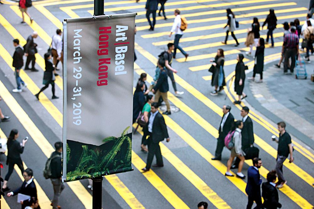 Ярмарка современного искусства Art Basel в Гонконге отменена из-за корон...