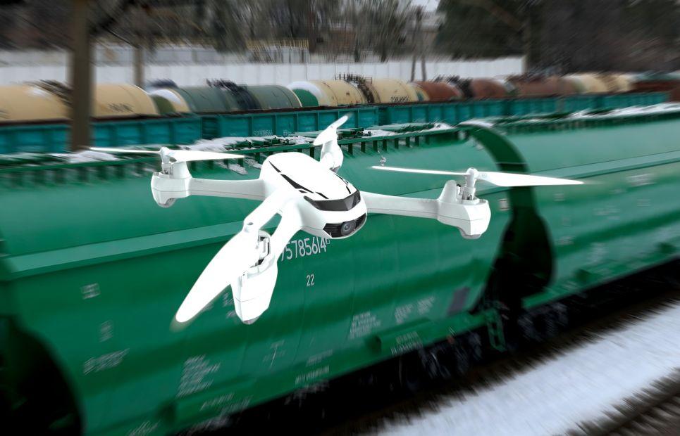 В Укрзализныце показали, как ловят воров с помощью дронов