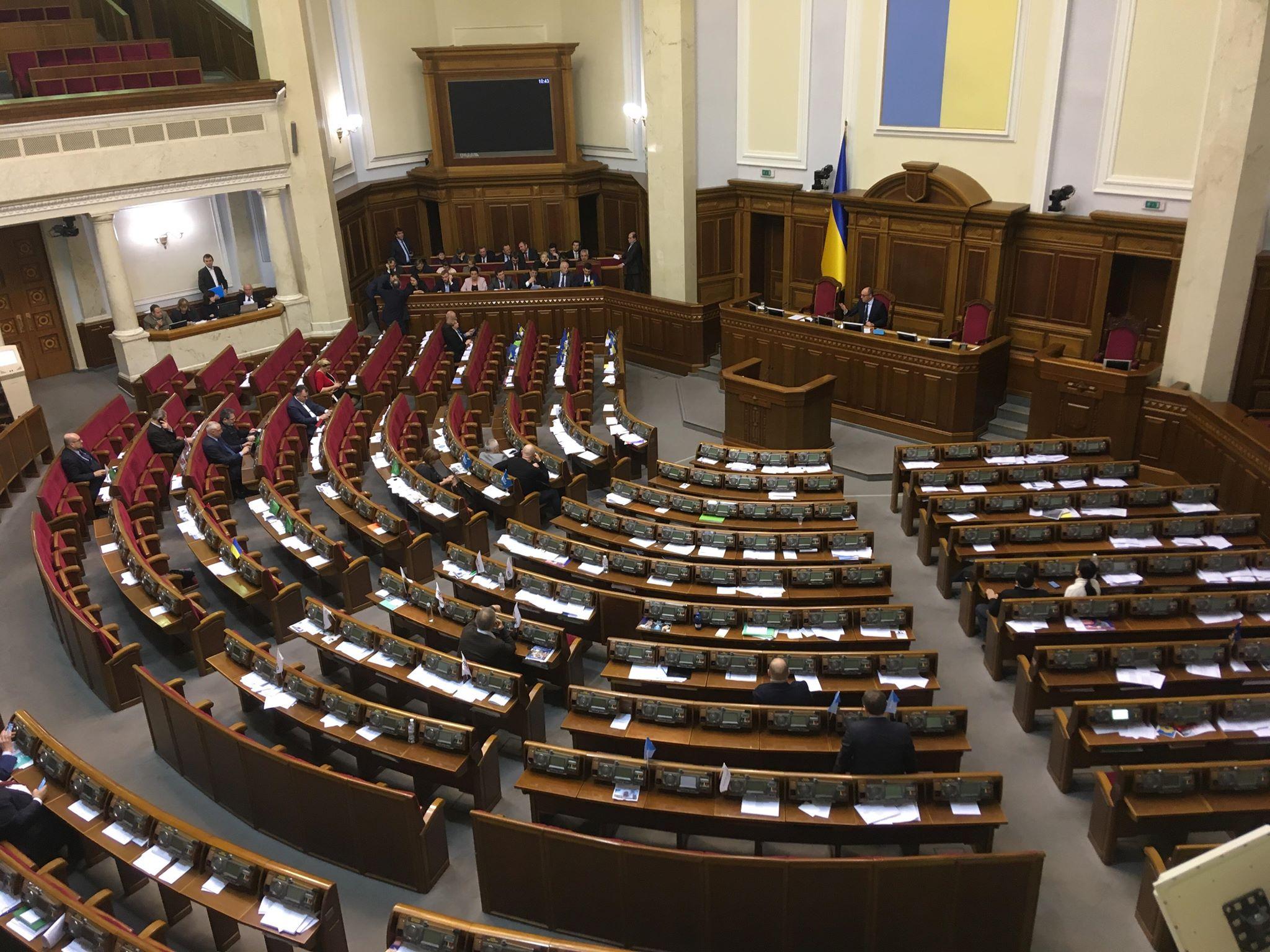 В марте народные депутаты Украины побили рекорд