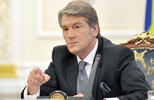 Ющенко требует от России не вмешиваться в украинские дела накануне выбор...