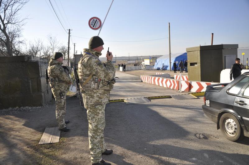 На Донбассе временно не работают два КПВВ
