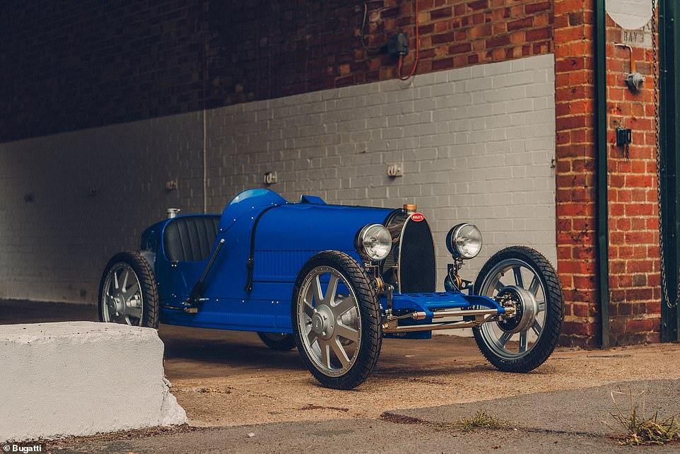 Дорогая игрушка: Bugatti выпустит машинку в ретро-стиле для детей