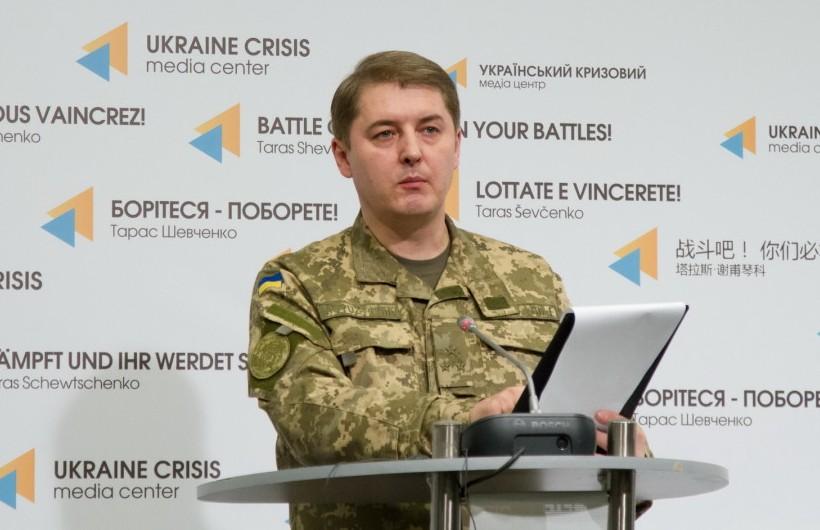 АТО: Боевики выпустили более 160 мин на донецком направлении