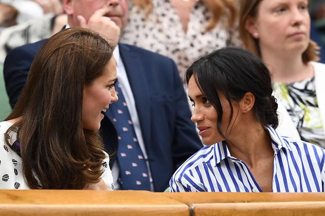 Кейт Миддлтон и принц Уильям поздравили Меган Маркл с 39-летием