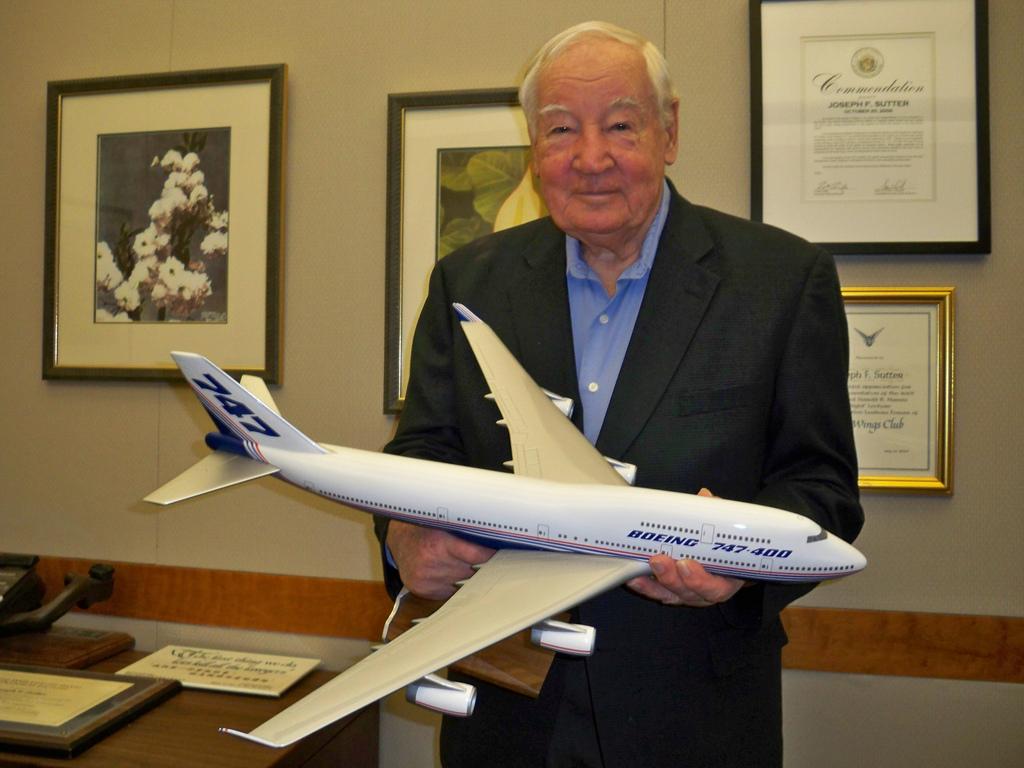 Умер главный конструктор культового самолета Boeing-747