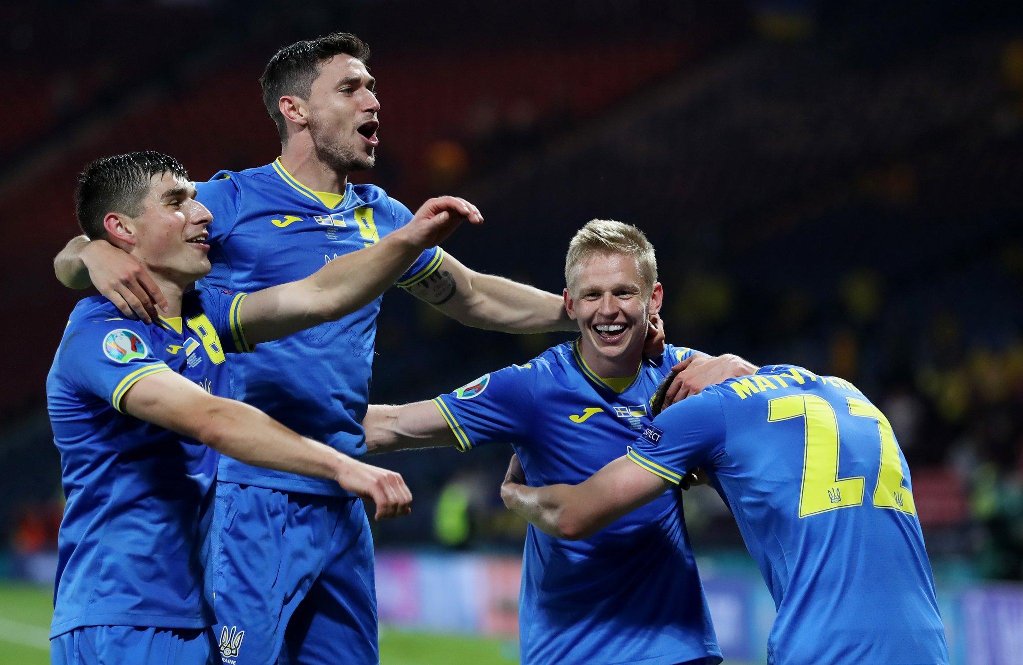 Новая страница в истории Украины: кто сегодня играет в 1/4 Евро-2020