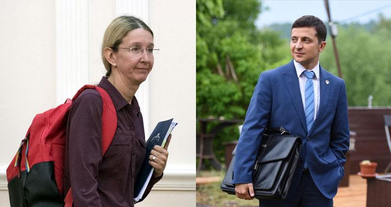 Петиция к Зеленскому о сохранении Супрун министром набрала необходимые г...
