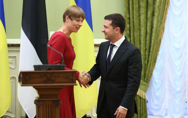 Зеленский анонсировал свой визит в Эстонию