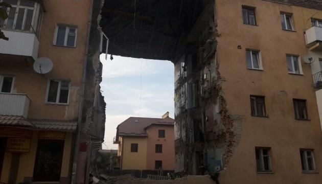 Обрушение дома в Дрогобыче: работы по разбору завалов завершены