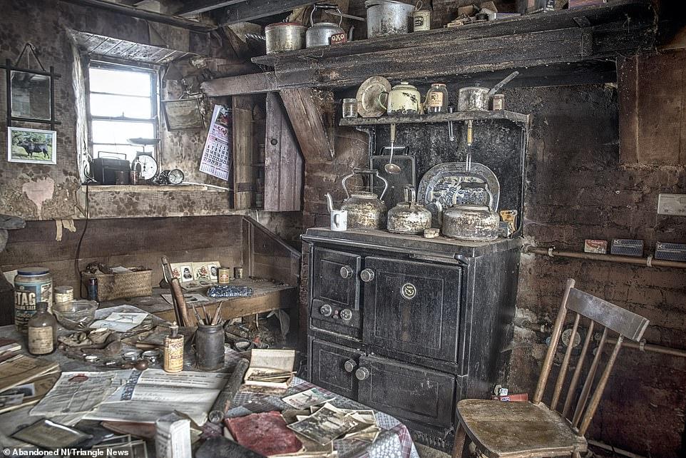 Капсула времени: в Северной Ирландии исследовали дом, который не открыва...