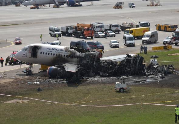 Катастрофа самолета SSJ100 в Шереметьево: опубликован предварительный от...