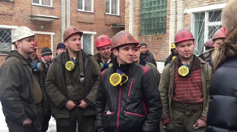 """Шахтеры ГП """"Львовуголь"""" объявили бессрочную забастовку"""