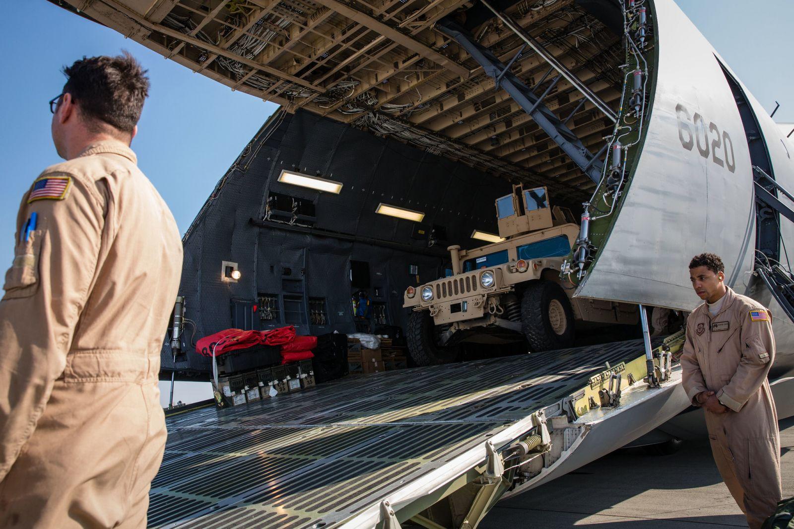 Решение о четверти млрд долларов военной помощи Украине ушло в Сенат США