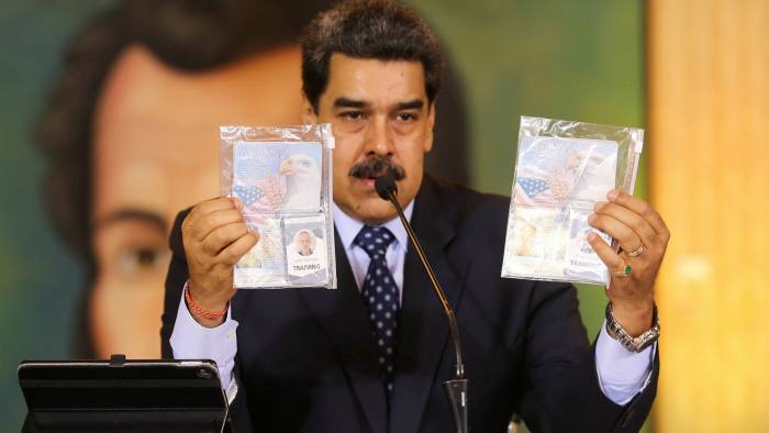 С паспортом на спецзадание. Мадуро говорит, что поймал американцев, гото...